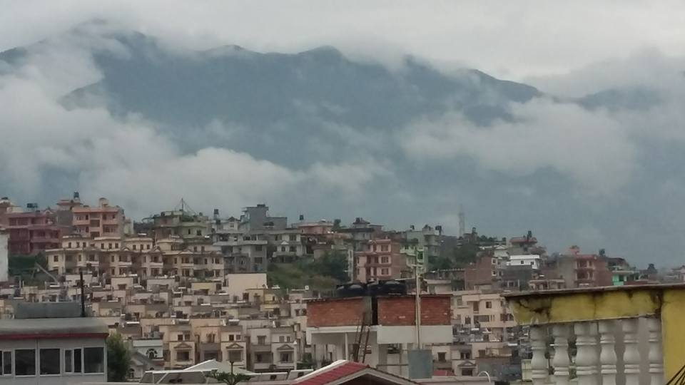 Kathmandu on a September morning.