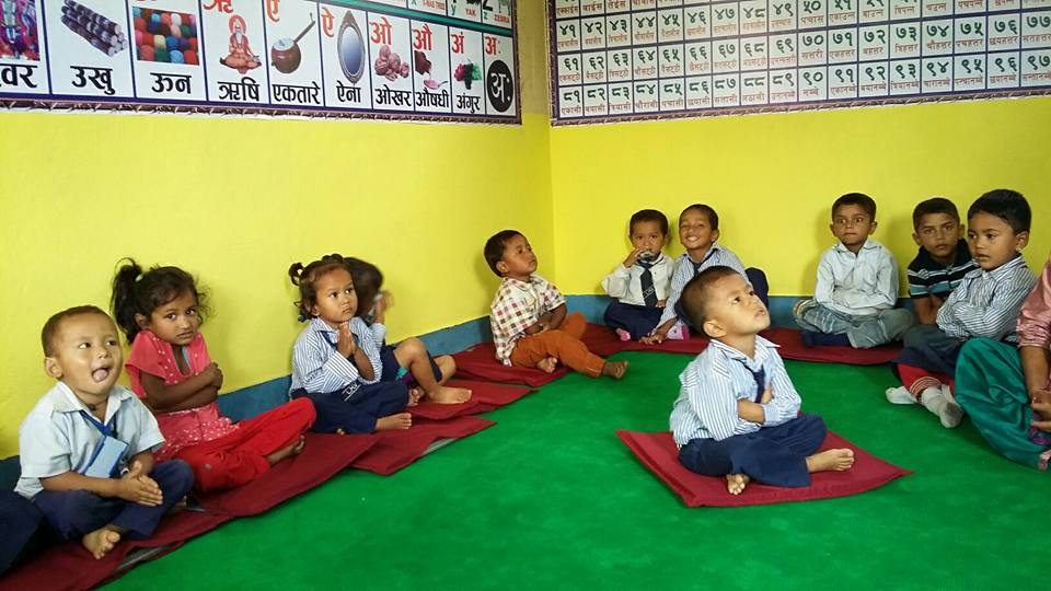 Nursery Class at Lubhoo School
